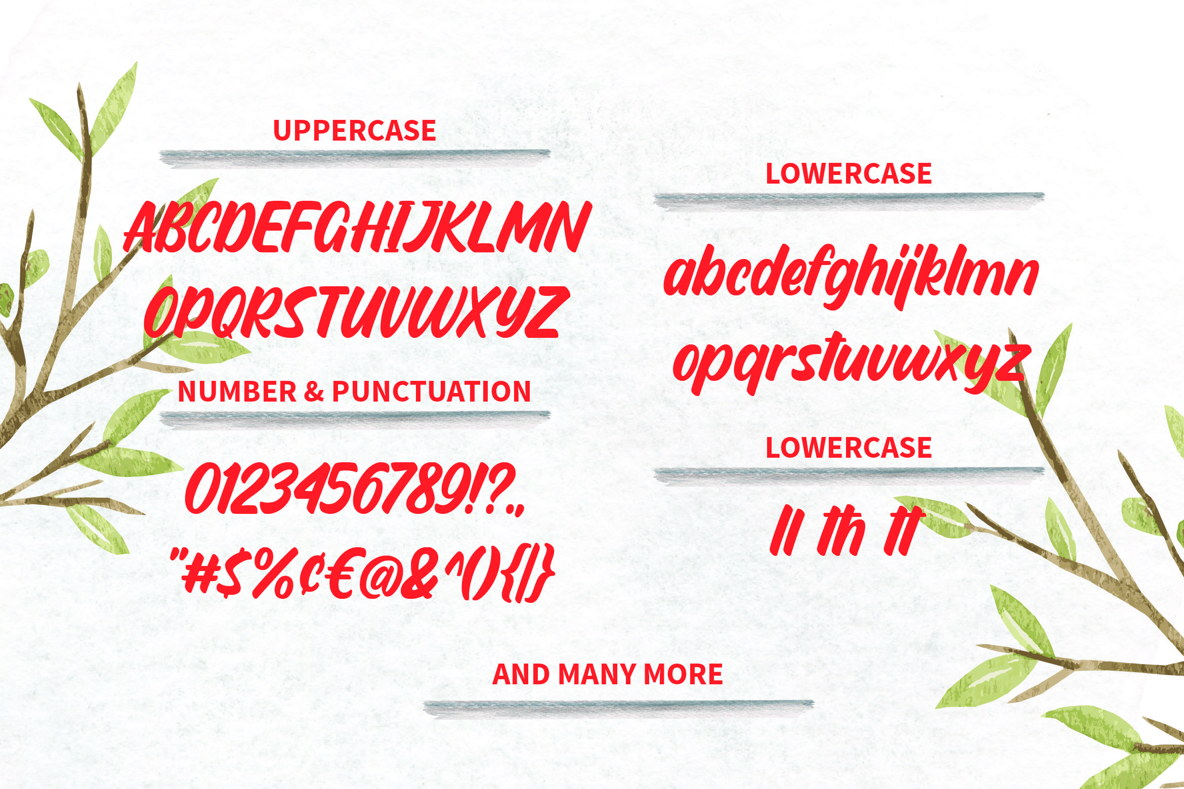 Sendang Mulyo - Brush Display Font example image 4