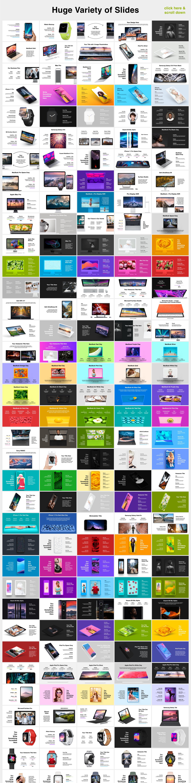 Animated Mockups Presentation Bundle. Infographic Templates. example image 3