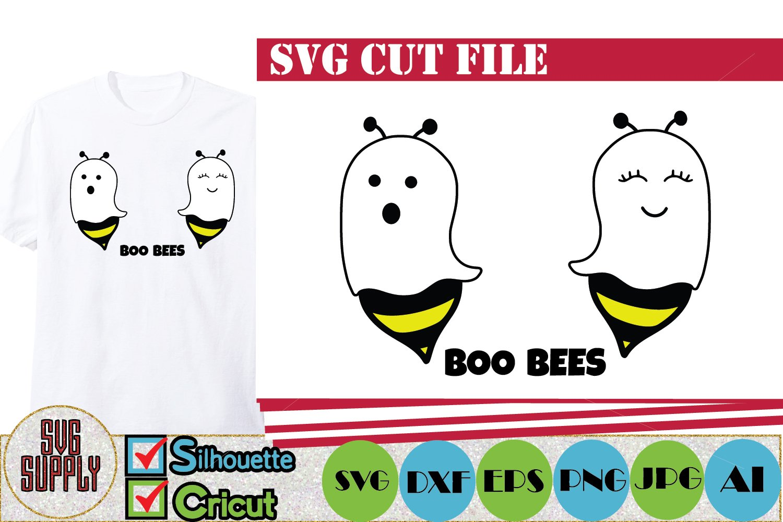 Boo Bees Halloween Svg Cut File 349562 Cut Files Design Bundles