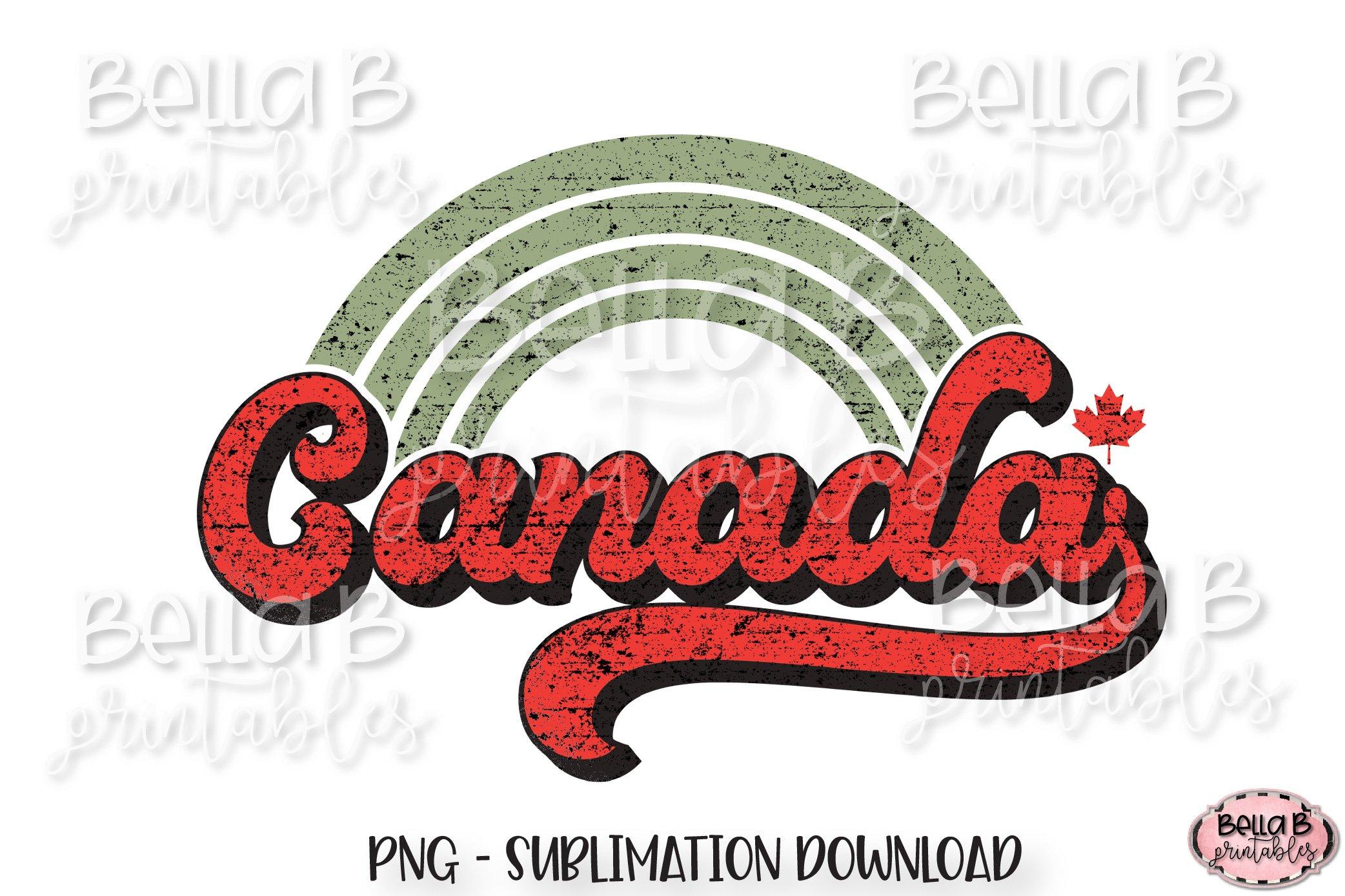 Canadian Sublimation Bundle, Retro Canada Sublimation Bundle example image 9