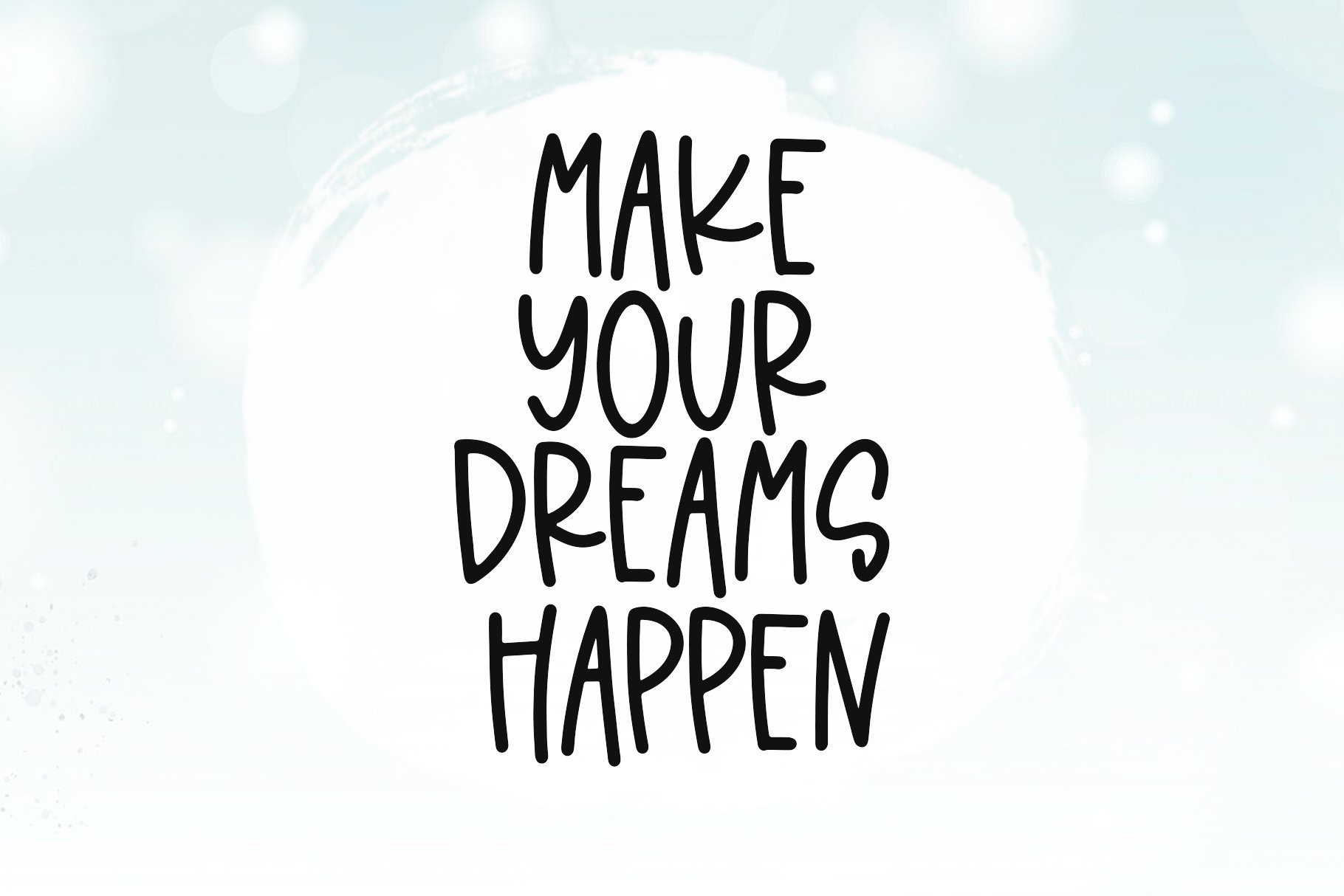 Dream Shake - A Quirky Handwritten Font example image 4