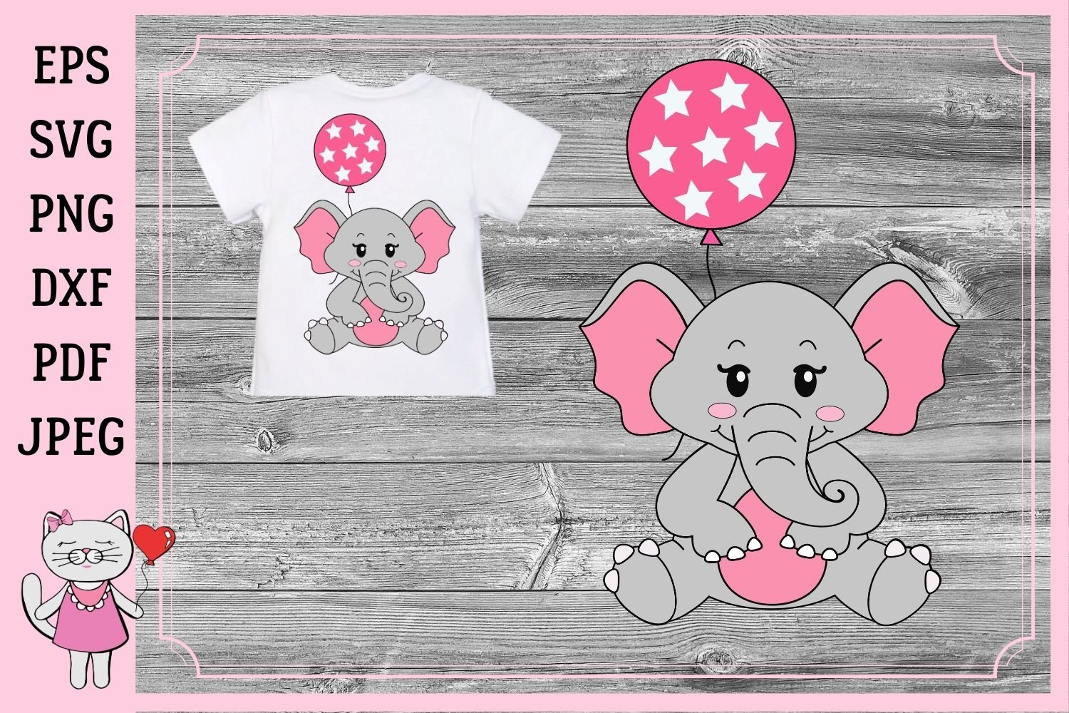 223+ Svg Baby Elephant Free – SVG,PNG,DXF,EPS include