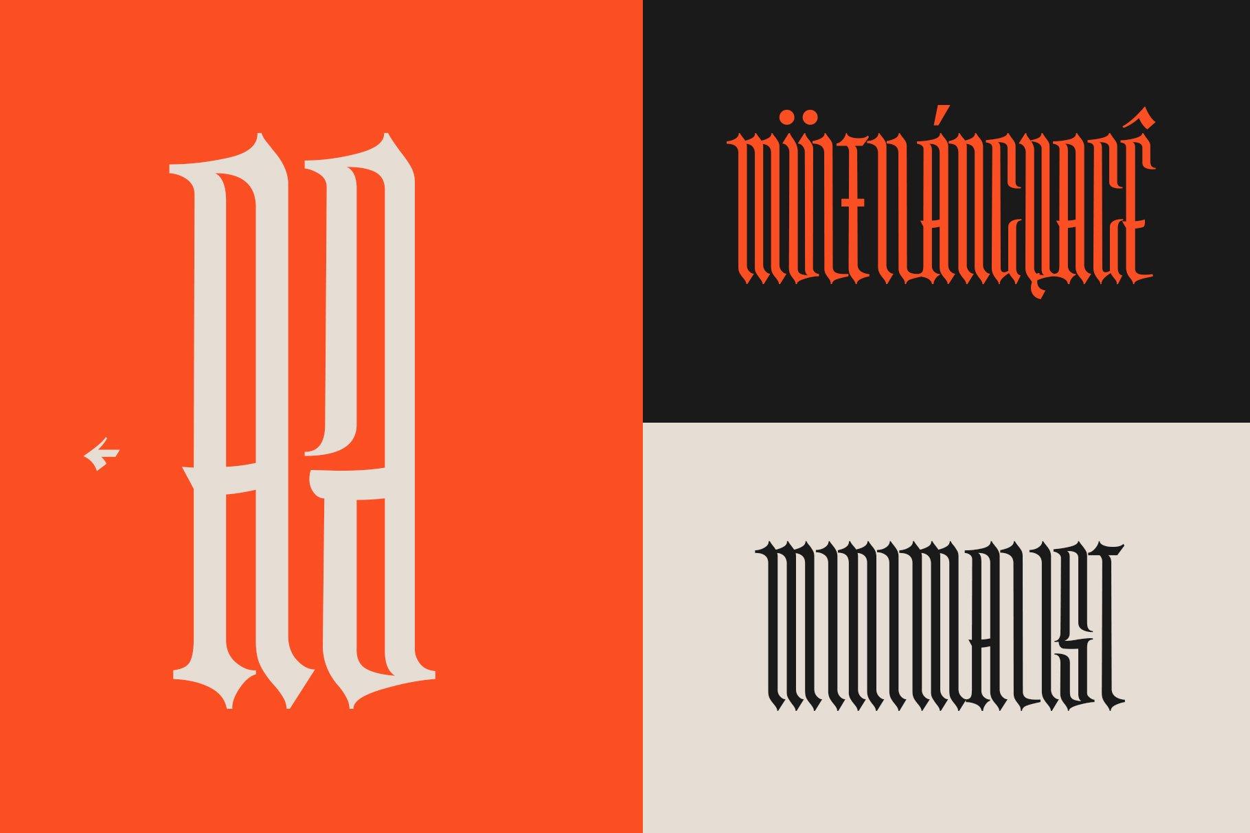 Washboard typeface example image 5