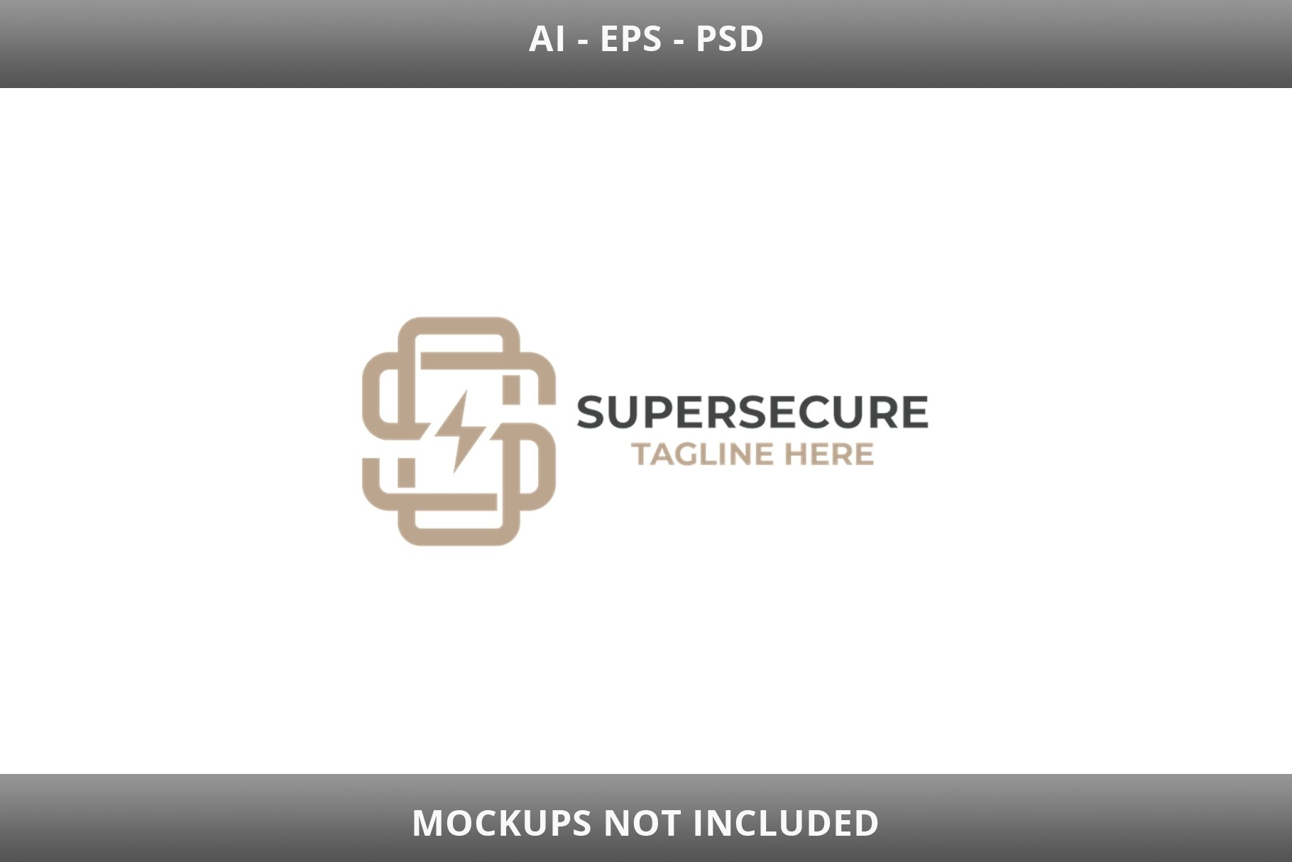 Super Secure Letter S Logo example image 2