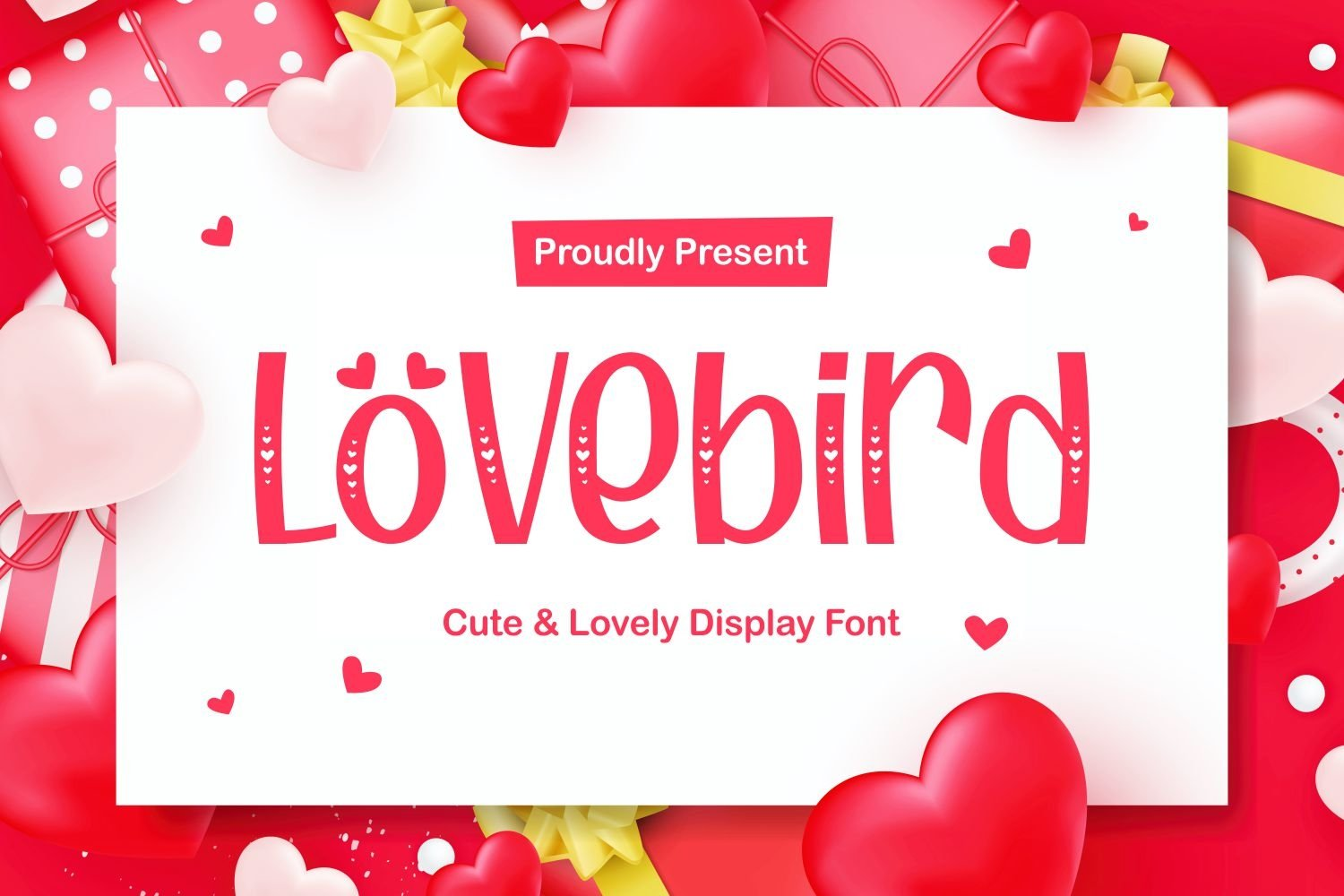 Lovebird - Cute and Lovely Typeface example image 1