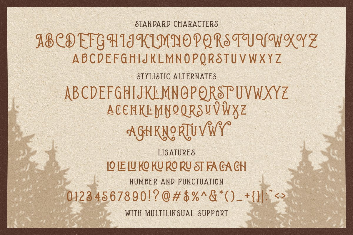 Brown Chunkers - Display Typeface example image 9