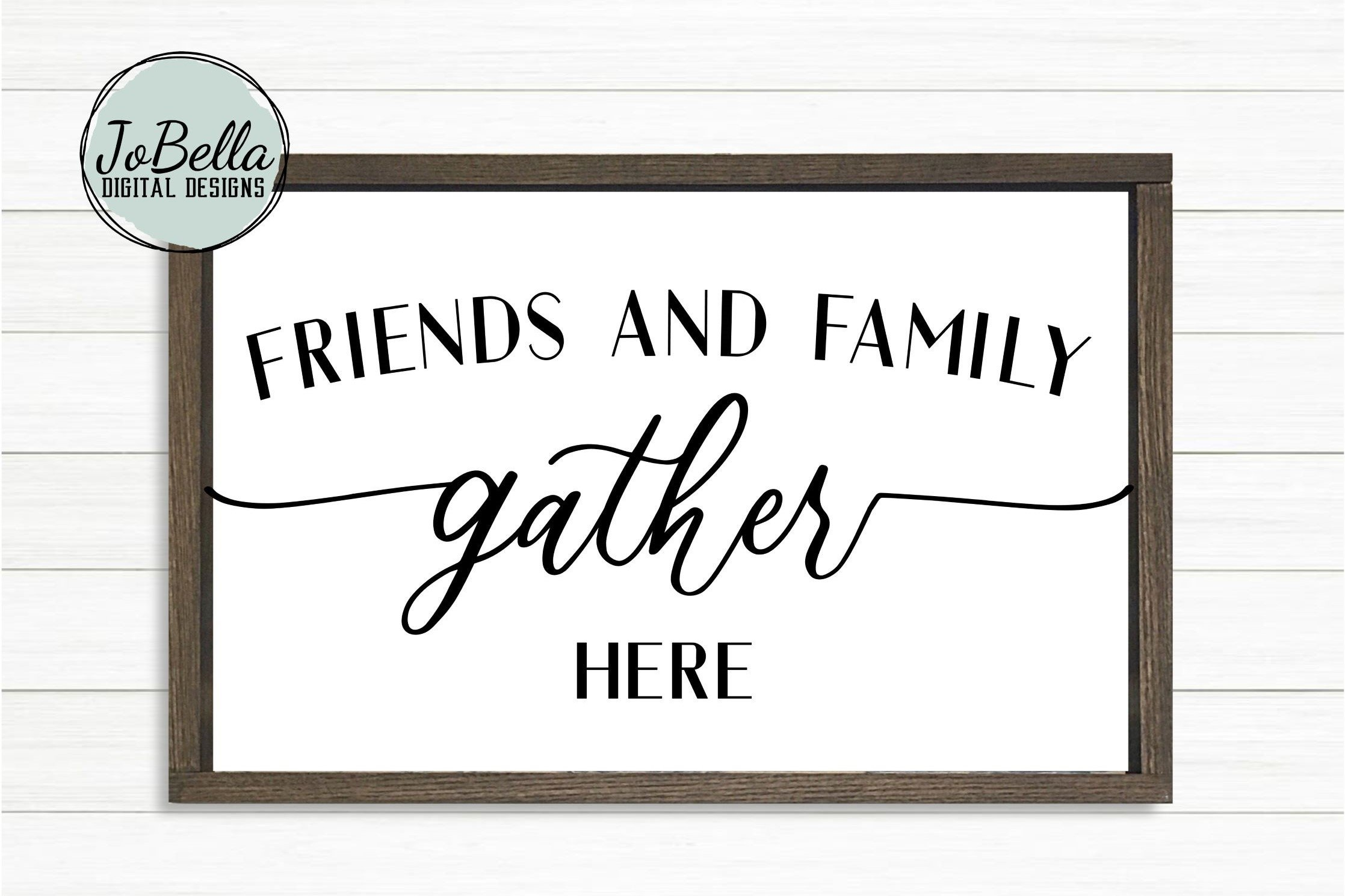 front door design Commercial Use Digital Design Friends gather here SVG for Cutting Machines 3 vertical files for long porch sign