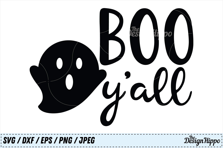Boo Y All Svg Boo Yall Svg Boo Svg Halloween Kids Svg Png 126479 Cut Files Design Bundles