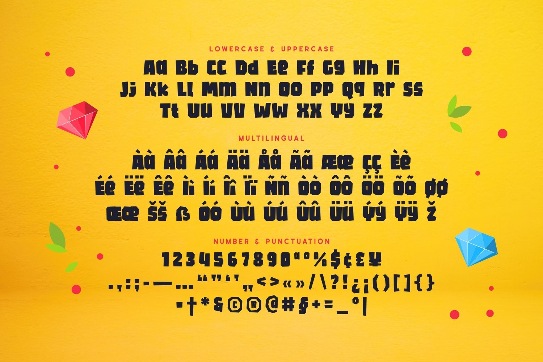 Prostone - Playful Display Font example image 5