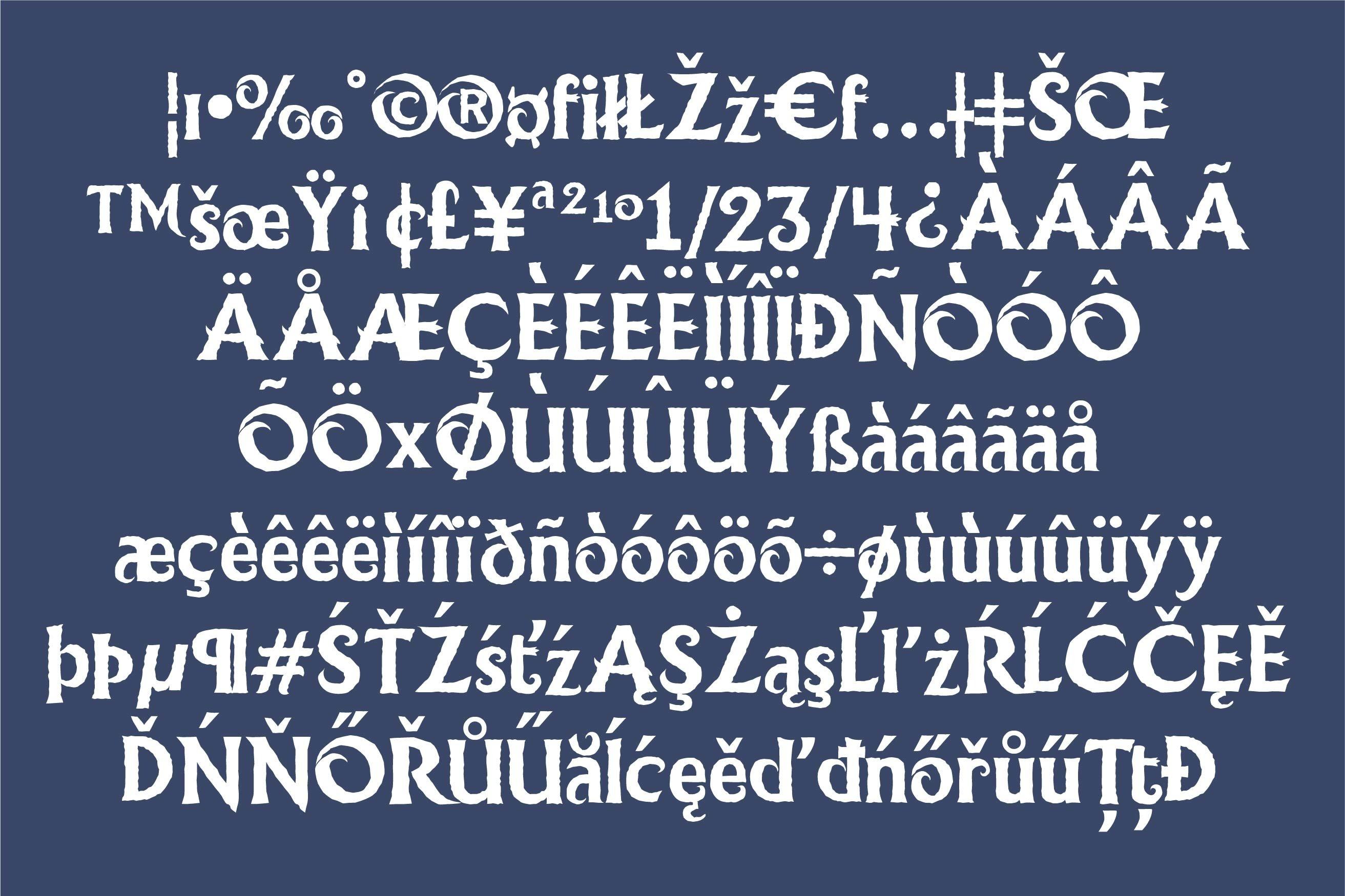 LD Ice Princess Font Duo example image 3