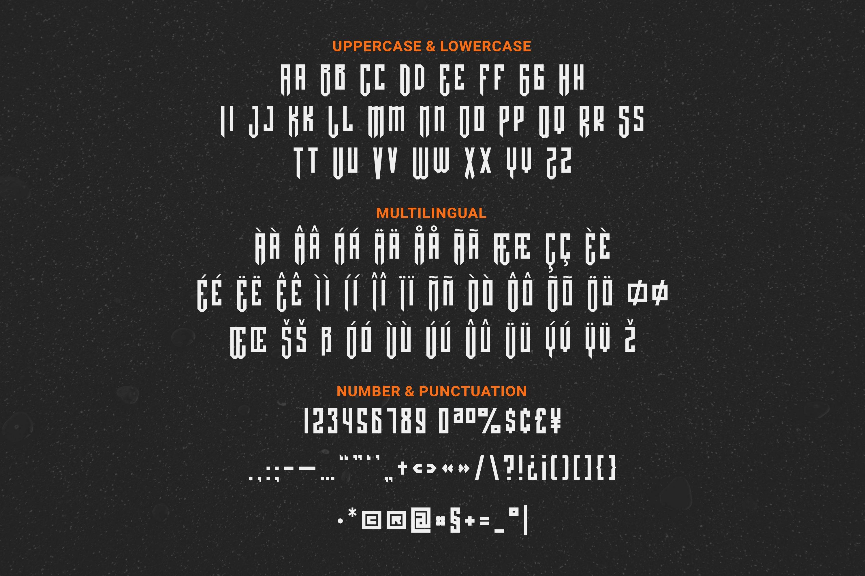 Cerberus Font example image 3