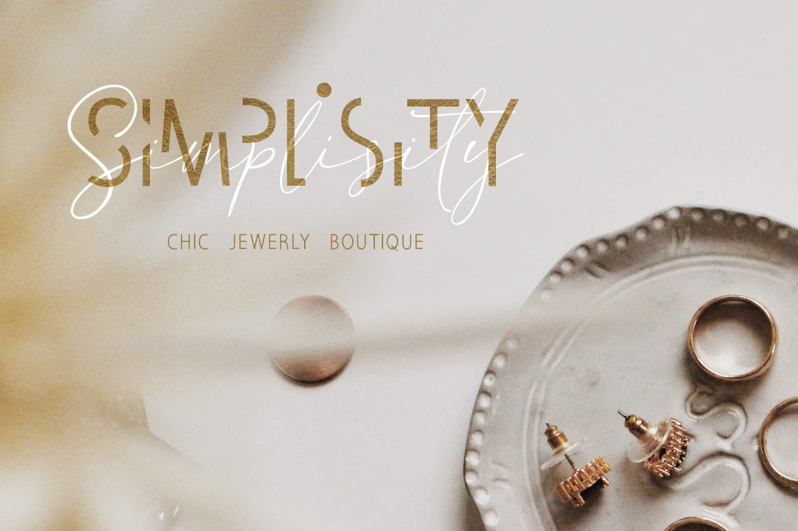 Invisible Beauty. Chic Duo Font. example image 6