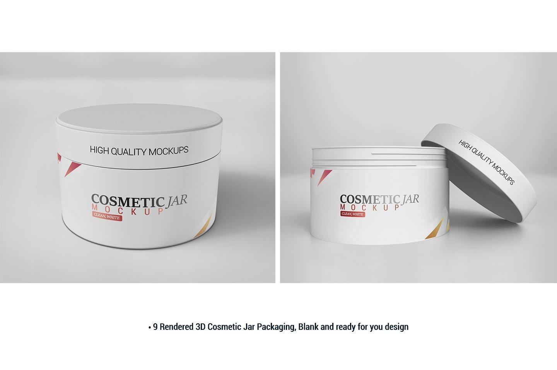 Cosmetic Jar Mockup example image 2