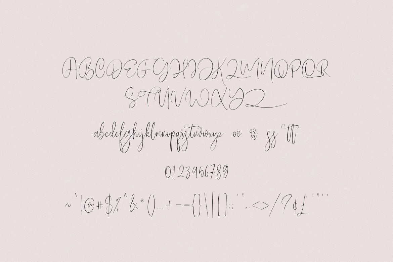 Mistari Typeface - Script And Sans example image 8