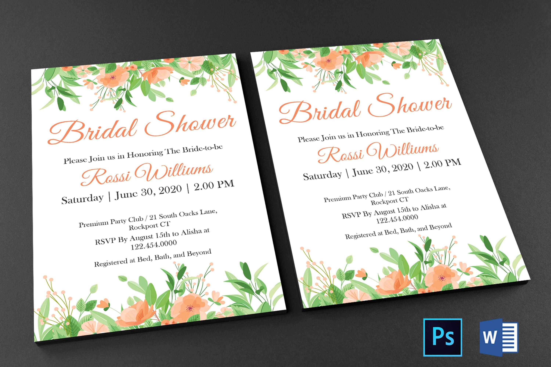 Bridal Shower Invitation example image 3