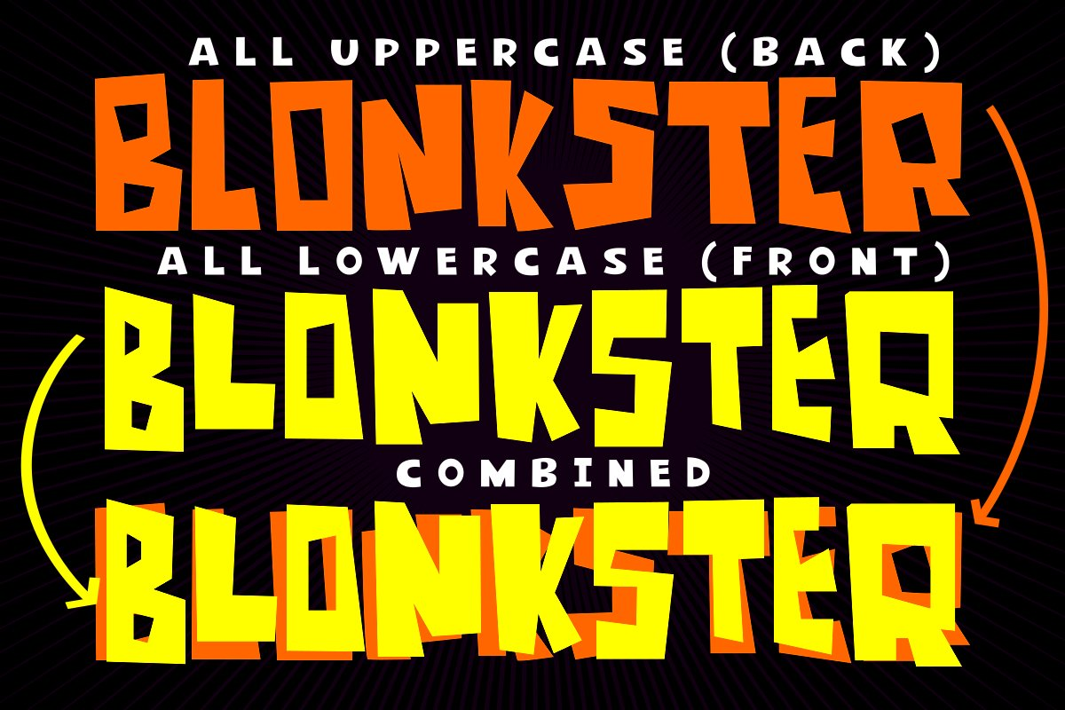 Blonkster Display Font example image 2