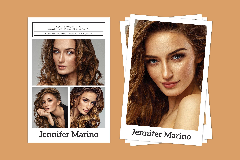 model comp card template 304605  card making  design