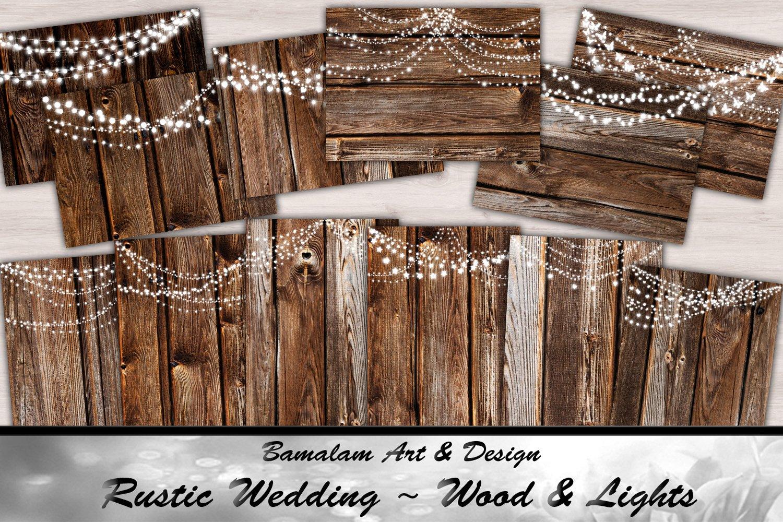 Wood & Lights - Rustic Wedding example image 1