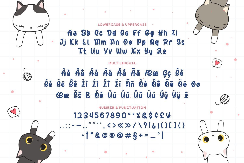 HyperCat - Cute & Playful Display Font example image 5