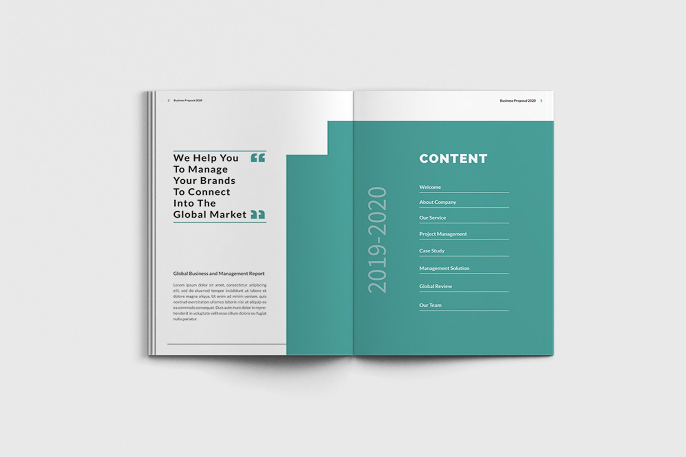 Mager - A4 Management Brochure Template example image 4