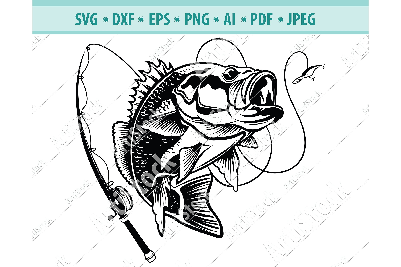 Download Visual Arts Woodland Svg Rustic Svg Fishing Svg Png Fishing Cutter Files Digital Download Jpeg Bass Svg Fishing Vector Svg Eps Dxf Printing Printmaking