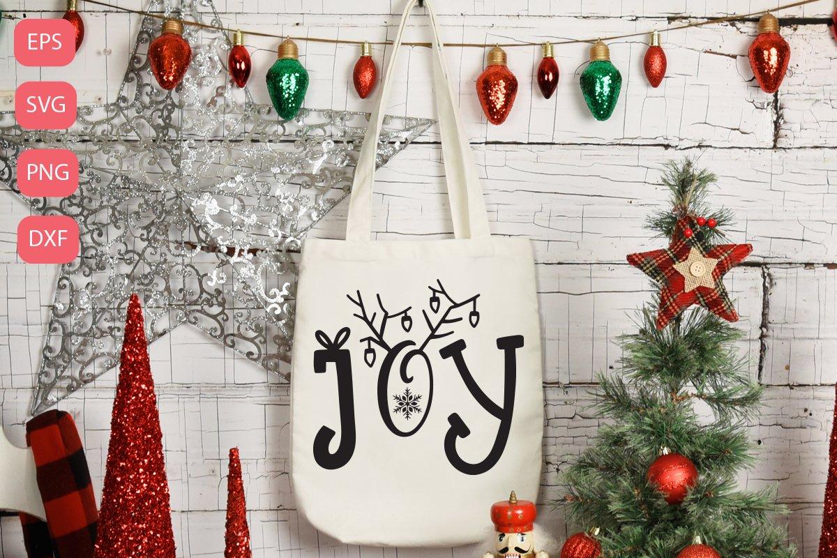 Joy christmas svg example image 1