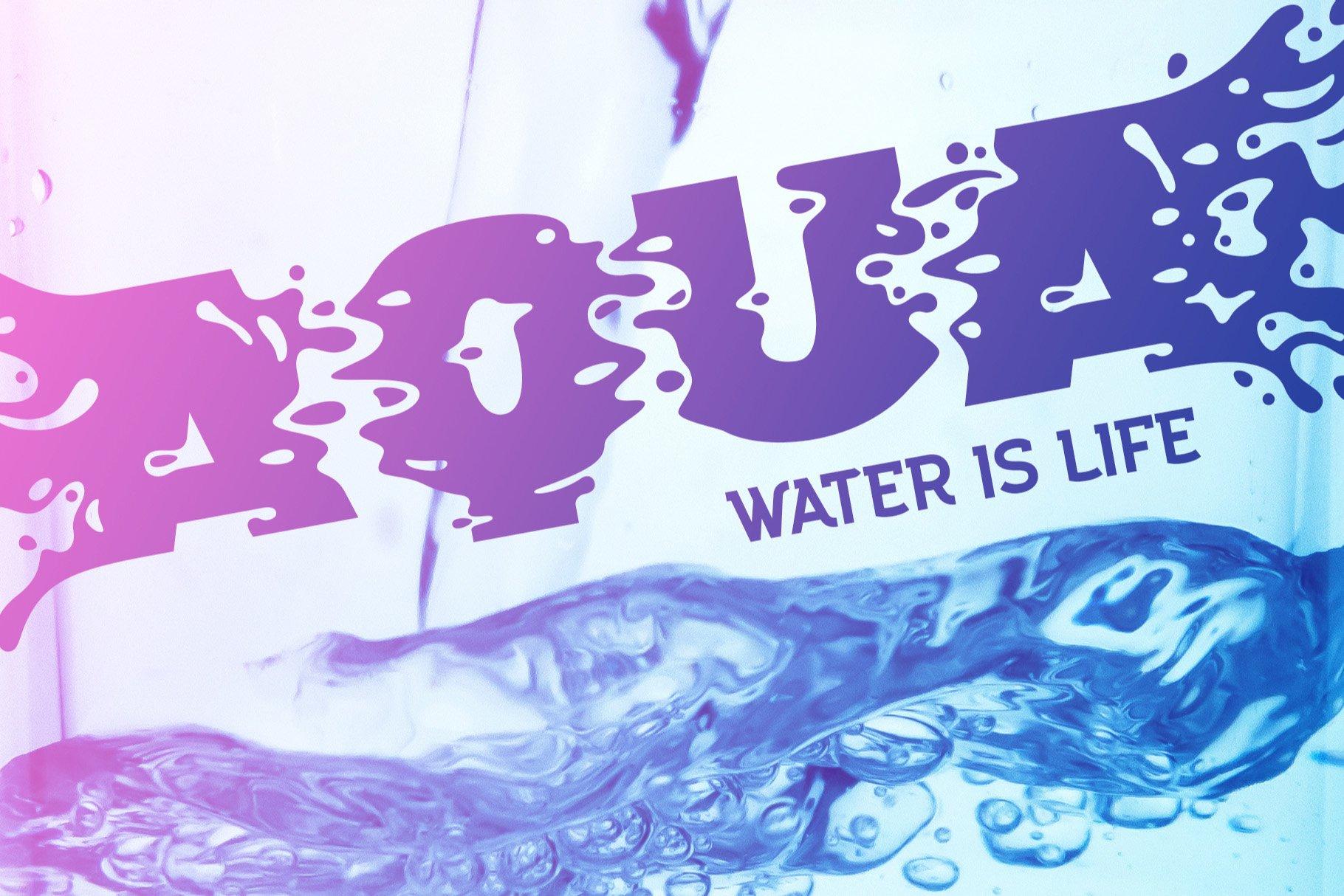 Plop liquid font example image 2