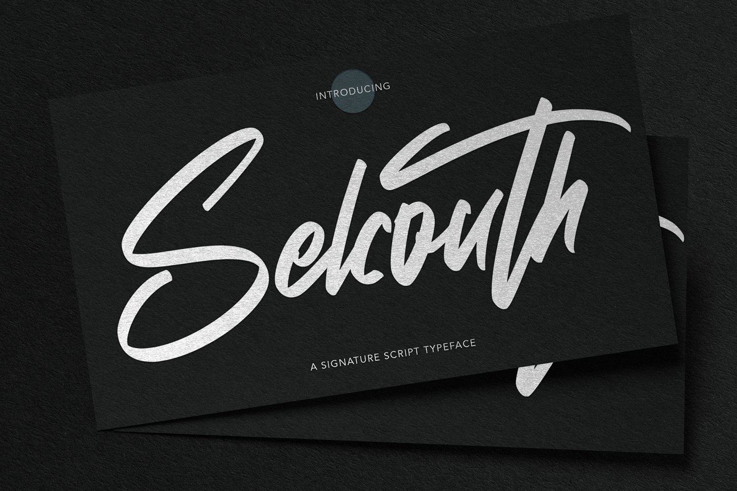Selcouth - Signature Script Font example image 1