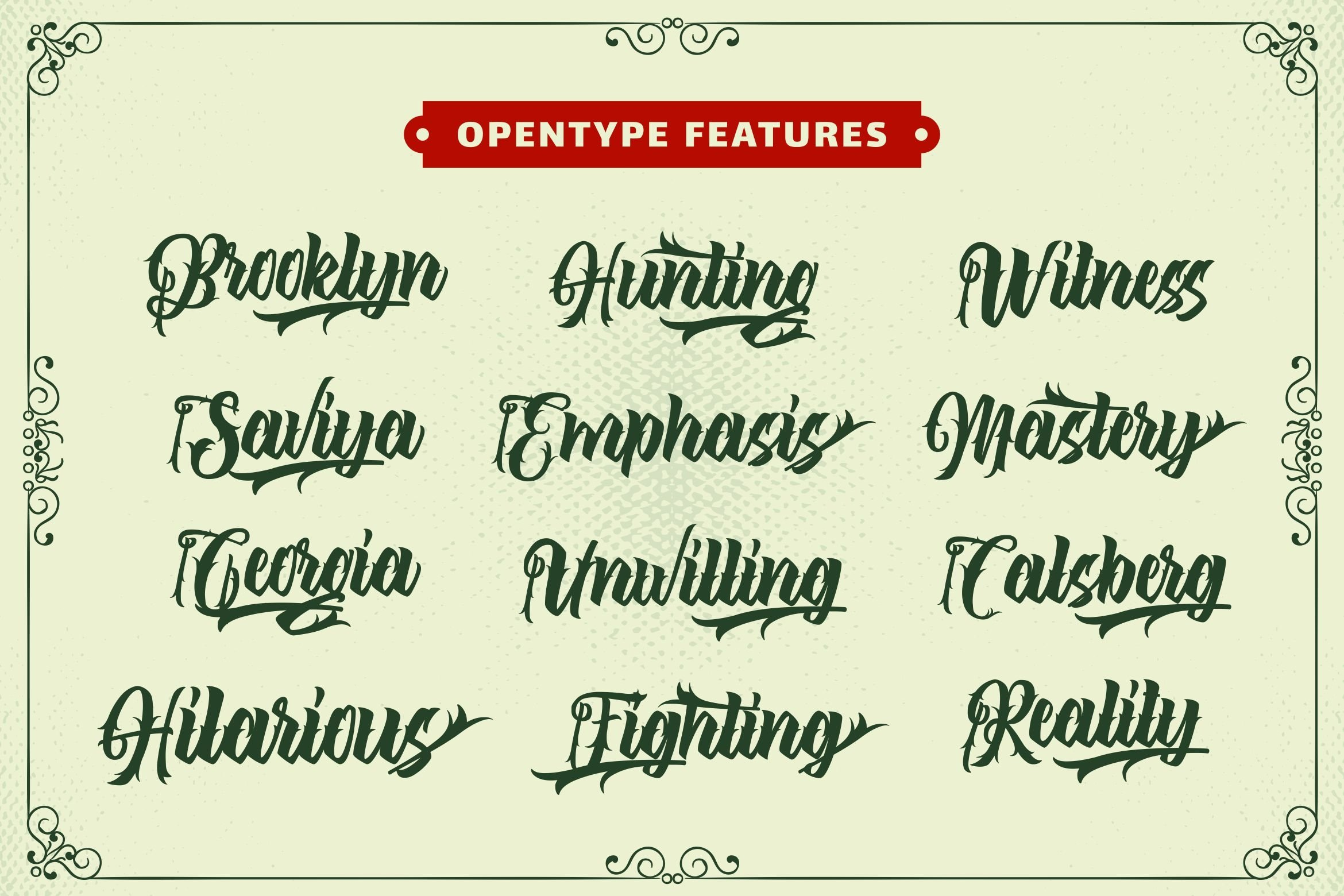 The Lastring - Tattoo Script Font example image 11