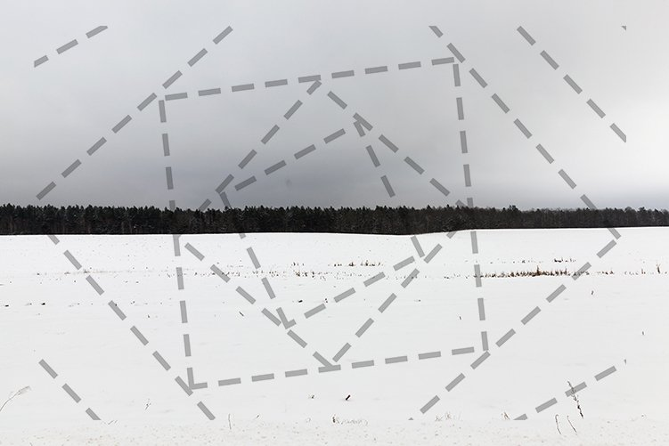 cloudy winter landscape example image 1