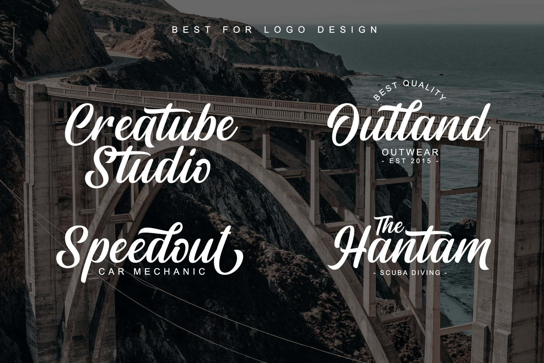 Rightland - Modern Bold Script example image 5