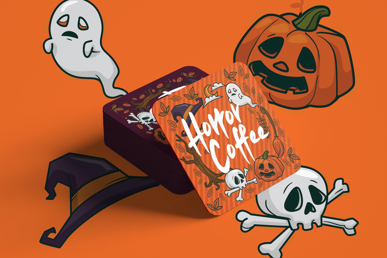 Ajaro - Sweet Halloween Font example image 7