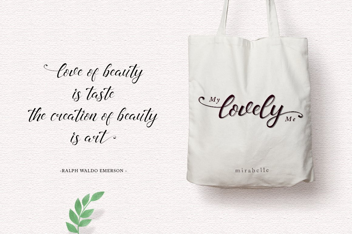 madelyn - Chic Script font example image 5