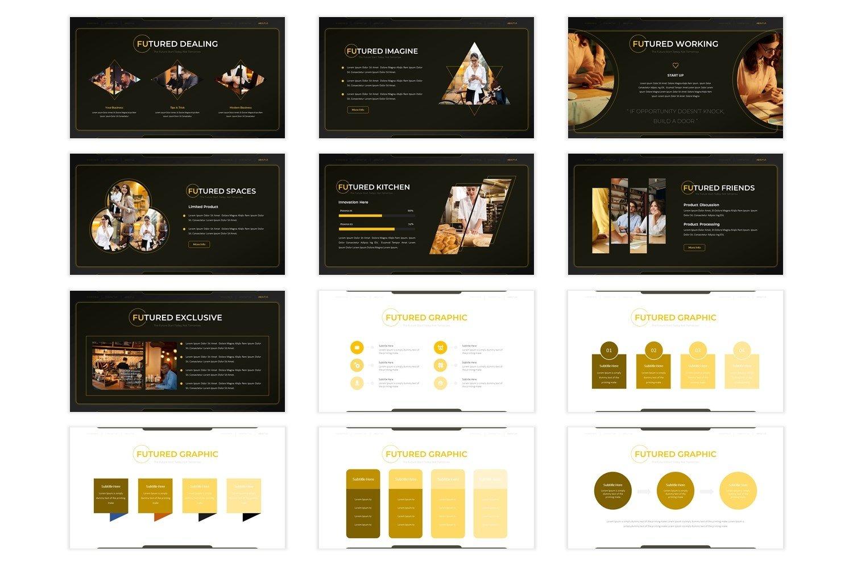 Futuranokala - Powerpoint Template example image 4
