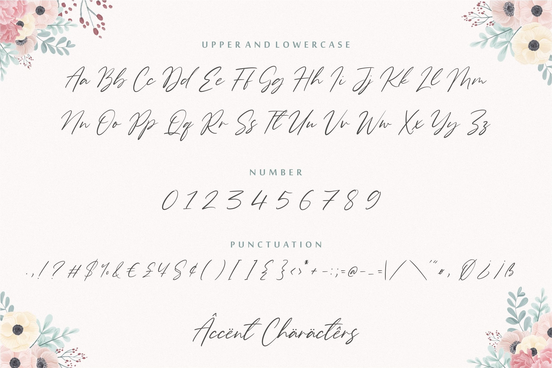 Gardenisa Beauty Modern Calligraphy Font example image 6
