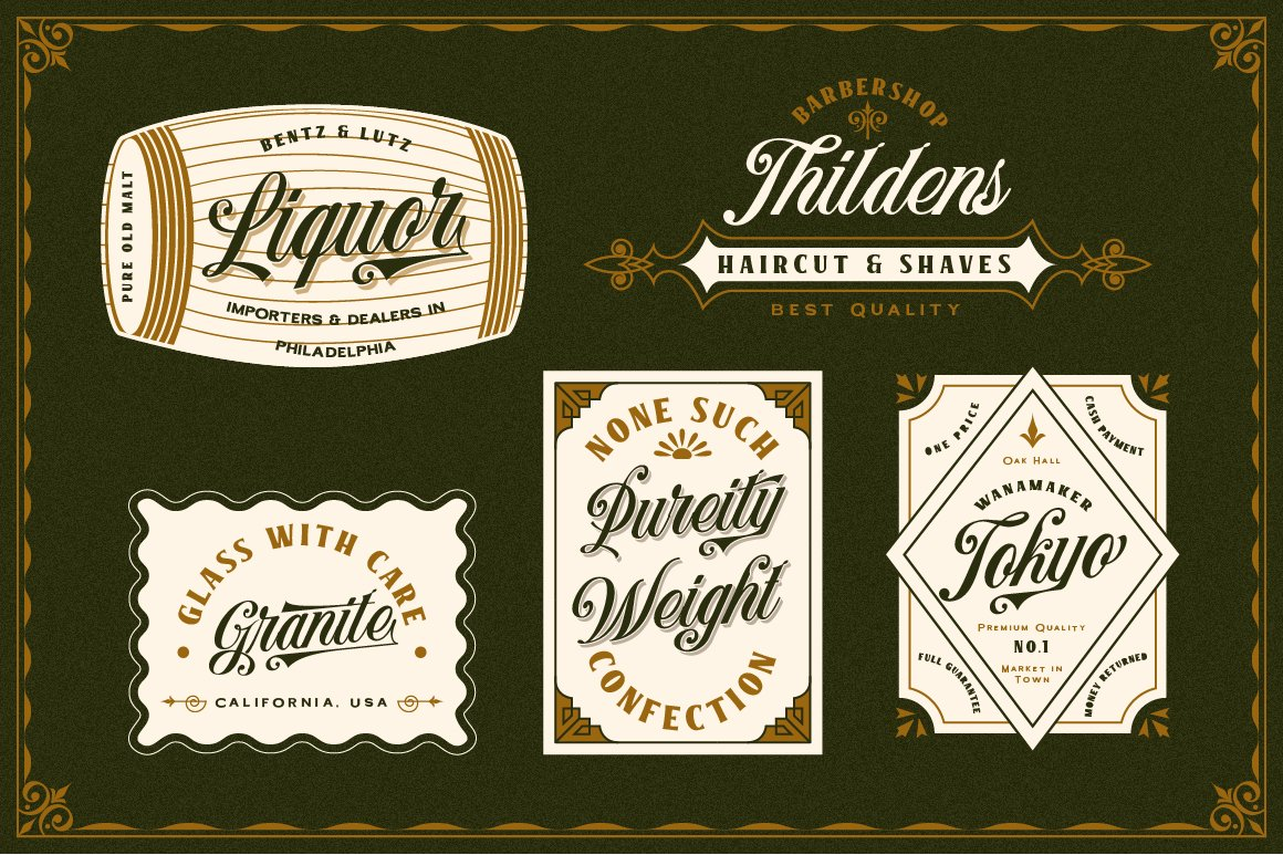 Benford Font Collections with Extras example image 11