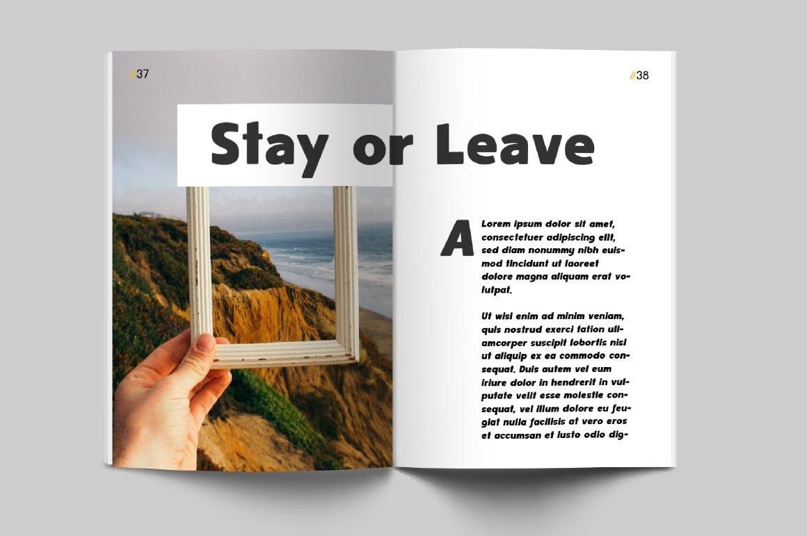 Spotlight - Sans Serif Regular with optional Stencils example image 6