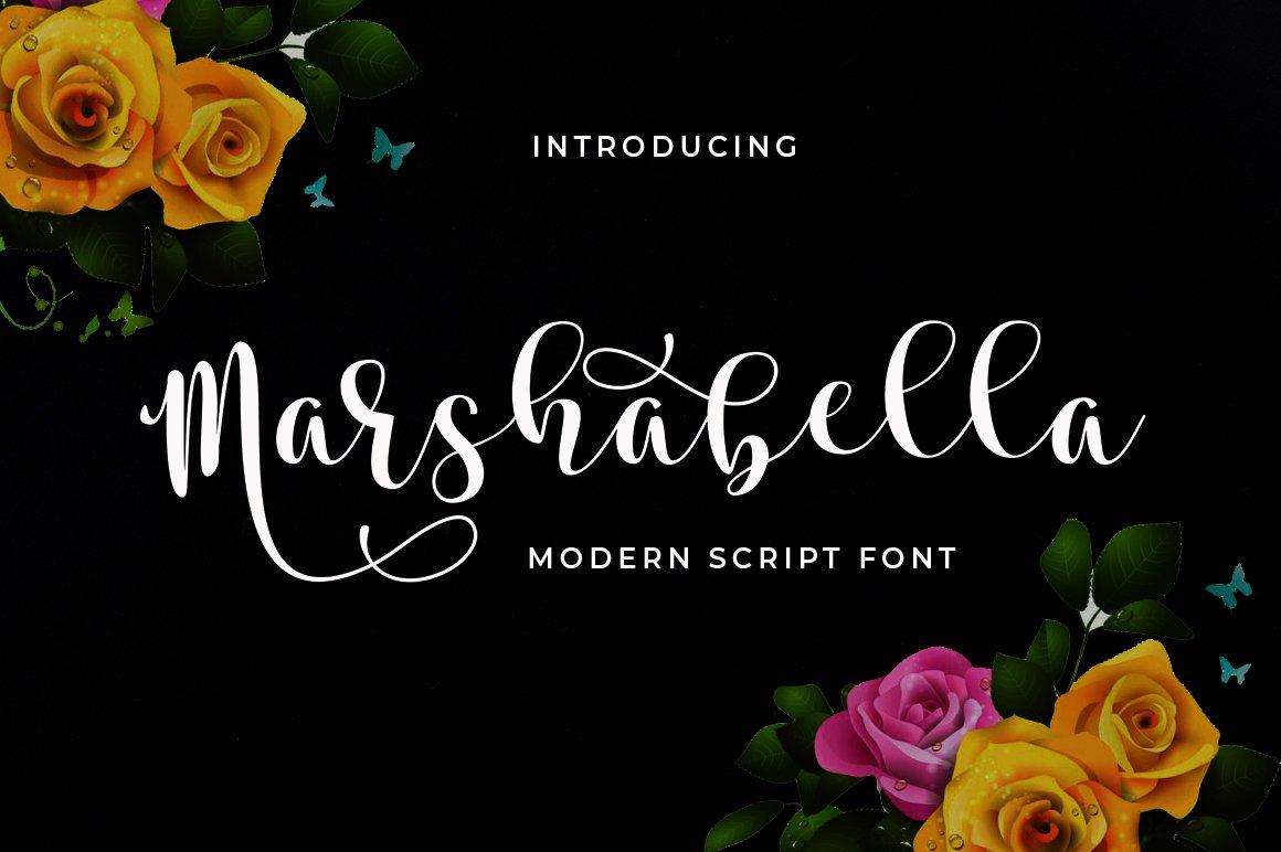 Marshabella Script example image 1