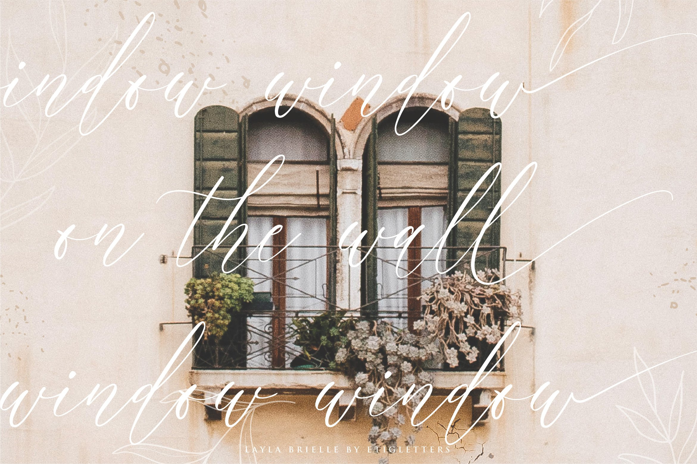 Layla Brielle Calligraphy Font example image 8