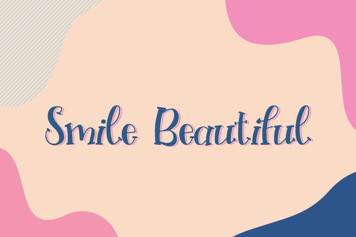 Slingshot Font example image 3
