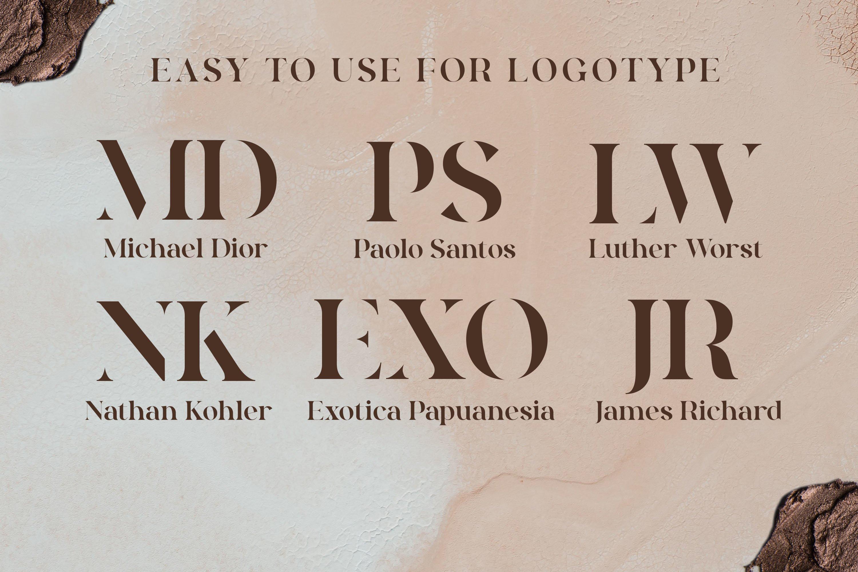Quakiez - Luxury Modern Serif example image 9