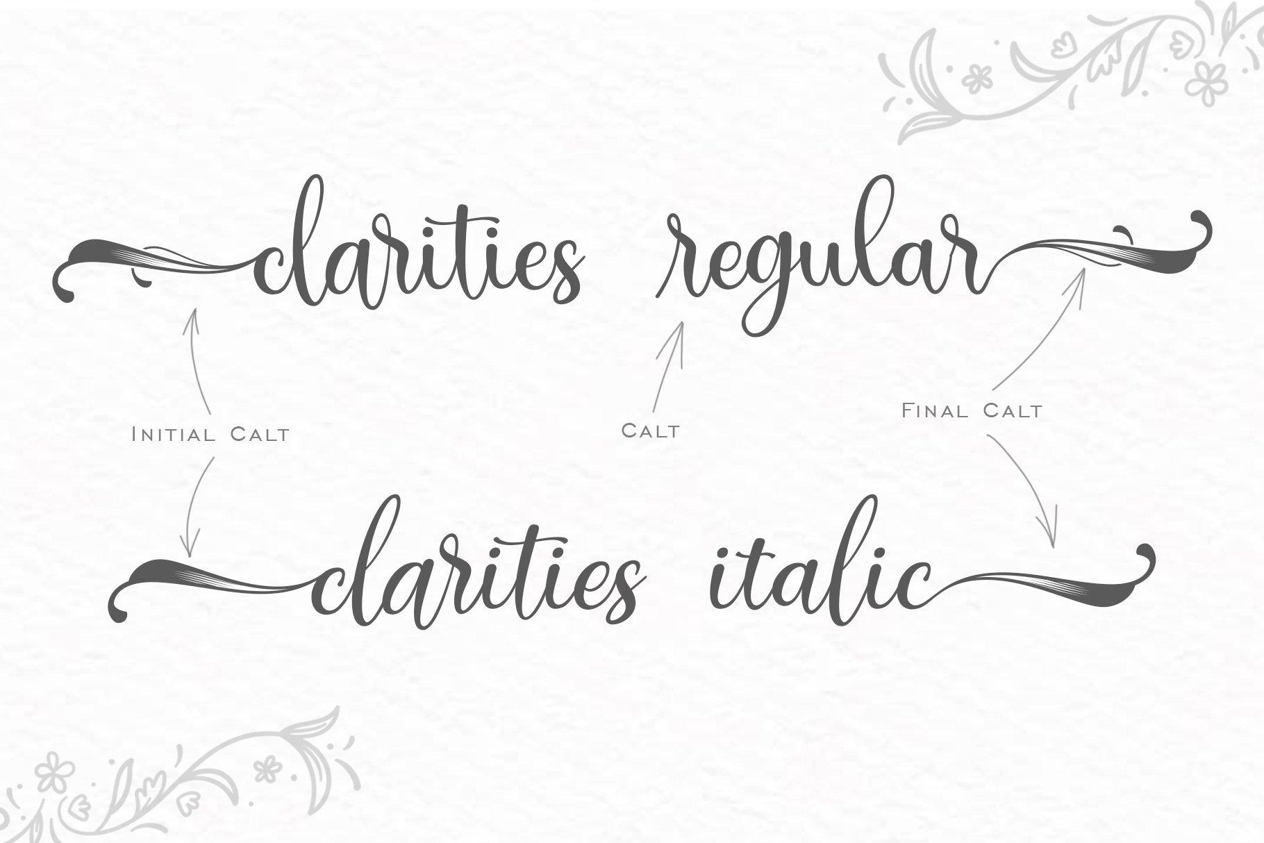 Clarities example image 4