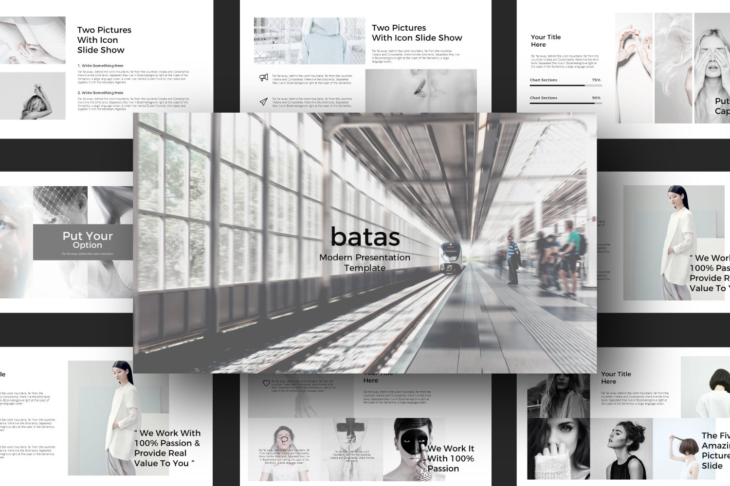 Batas Google Slide Template example image 5