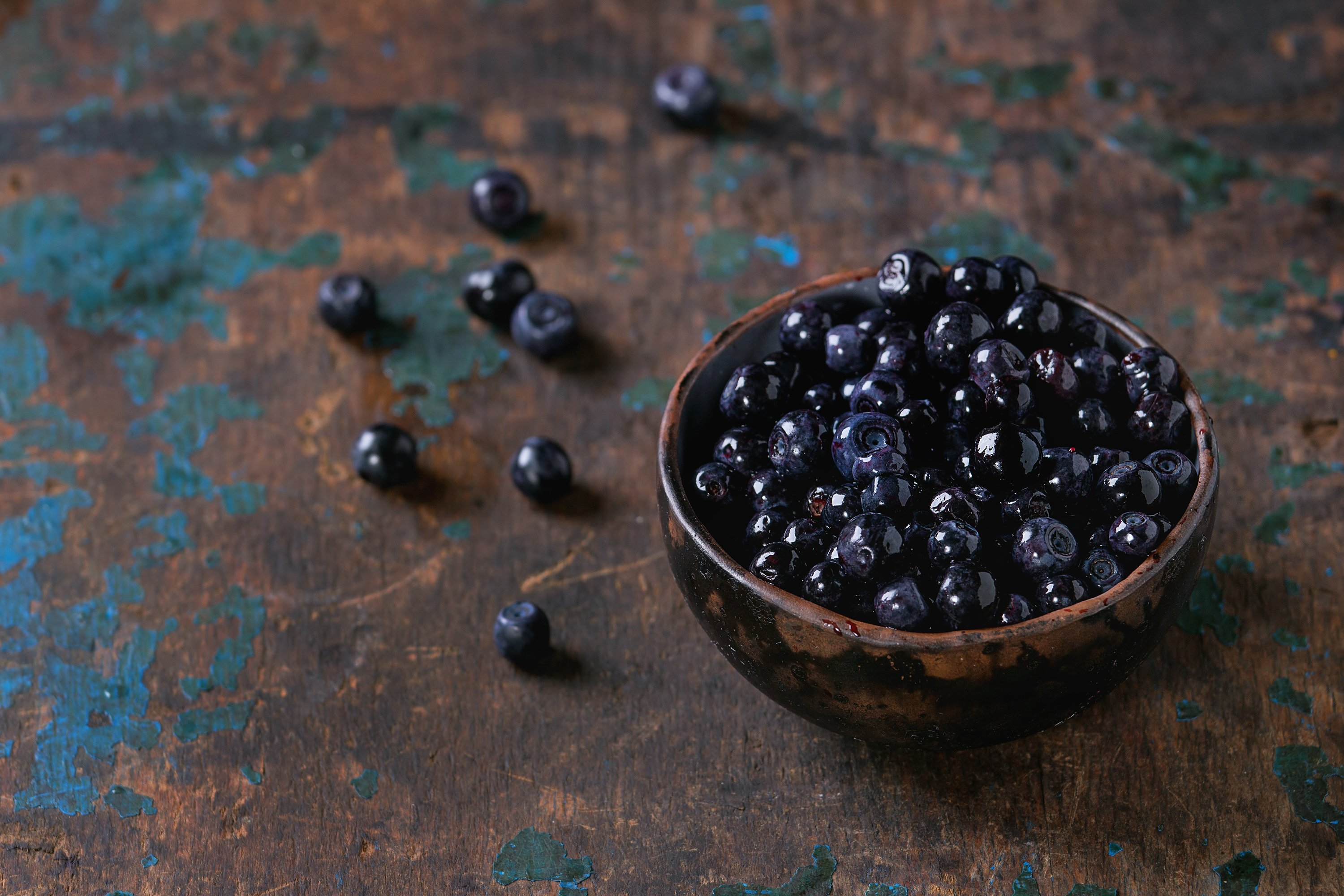 Heap of forest blueberries example image 1