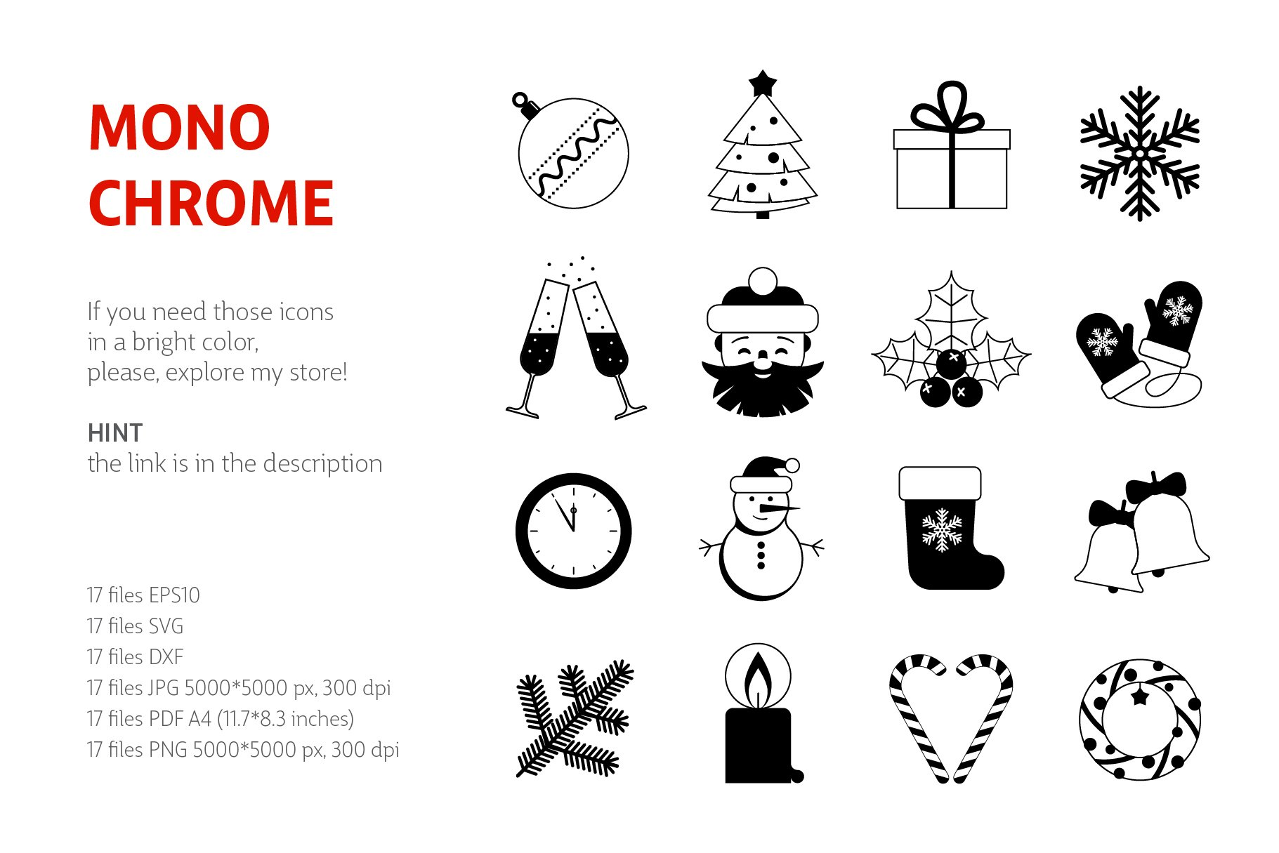 Christmas Icons Vol.2 example image 2