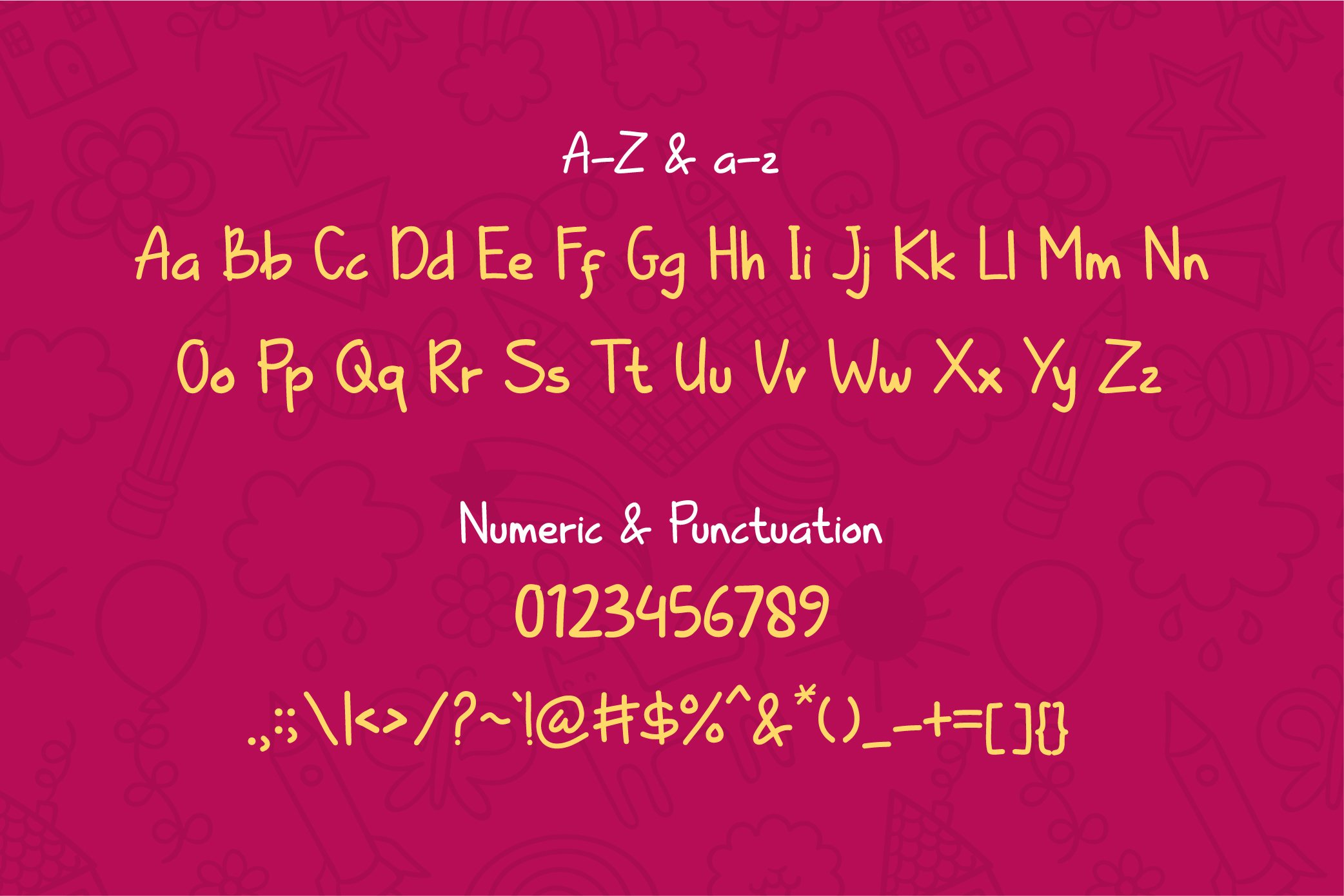 Kiddle Summer - Cute Display Font example image 6