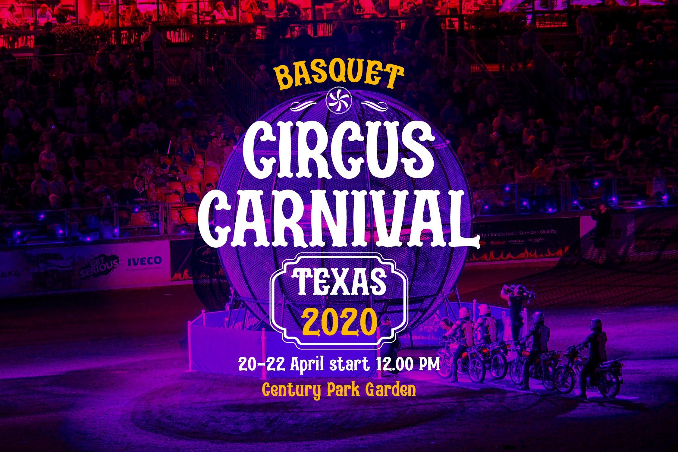 Acrobats - Circus Font example image 5