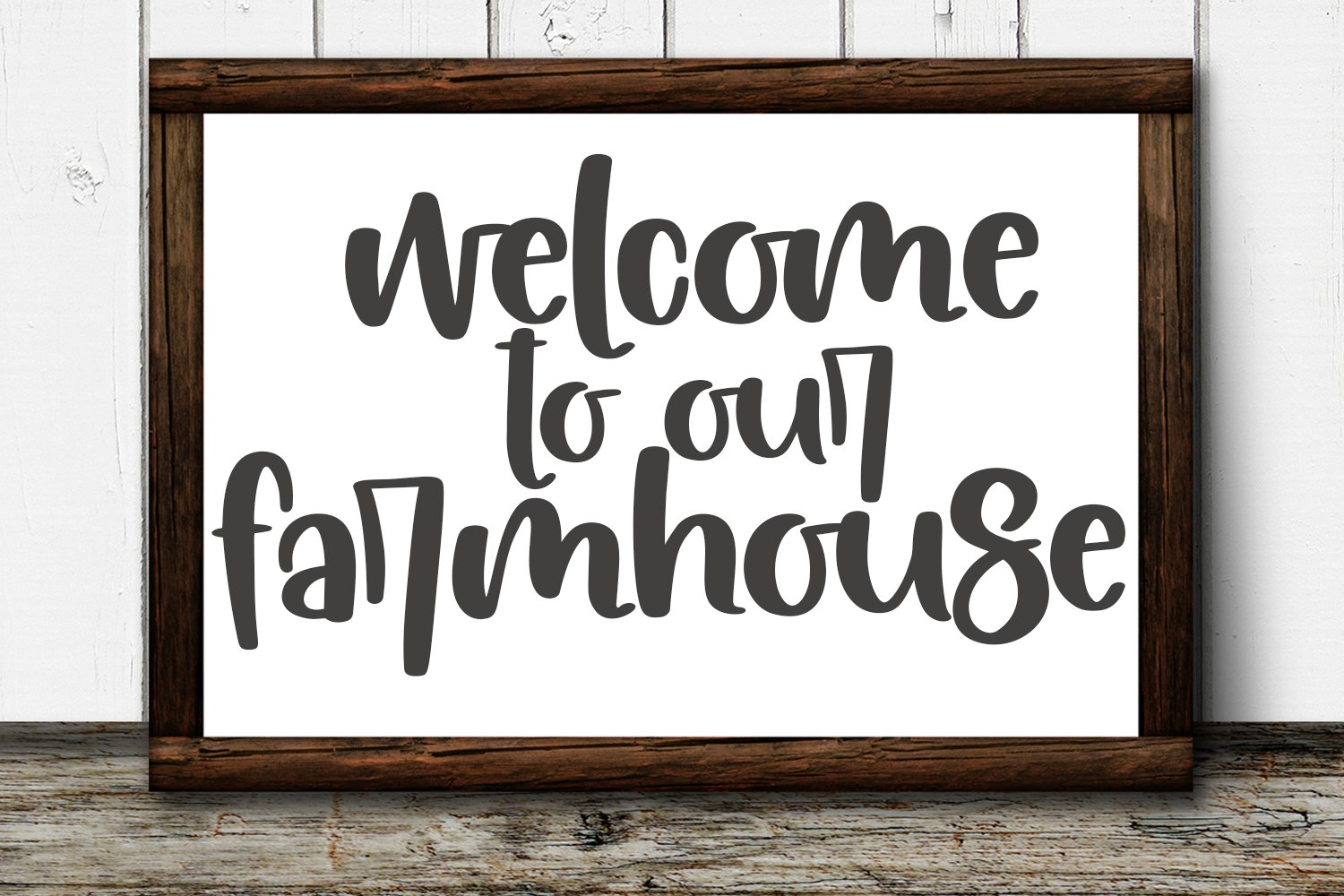 Farmhouse Flowers - A Quirky Hand-Lettered Font example image 2