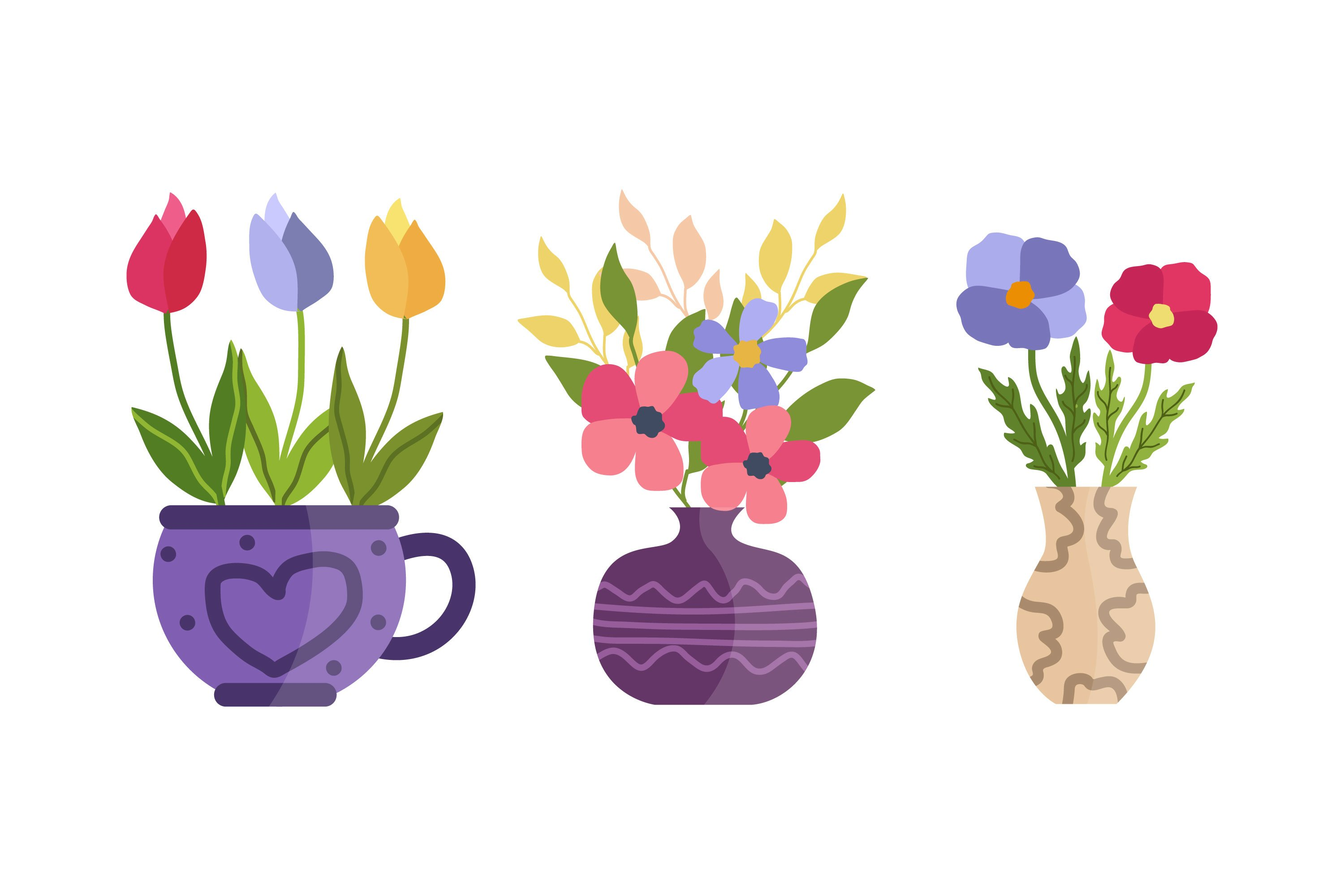 Potted Plant Illustrations example image 1