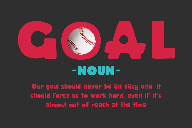 Bollind - Baseball Display Font example image 2
